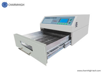 Mini Reflow Oven 300*320mm 1500w T962A with Exhaust IC Heater Infrared Welding Station